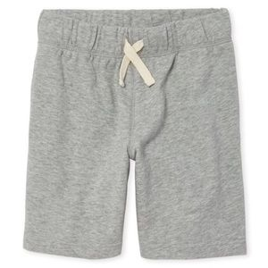 Boy's Gray French Terry Shorts M